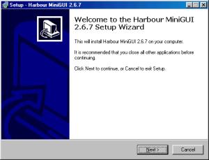 HMG 2.6.7 Instalação - Primeiro Passo