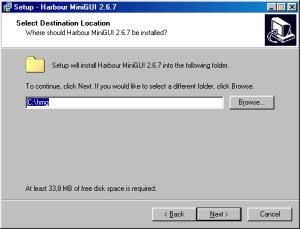 HMG 2.6.7 Instalação - Terceiro Passo