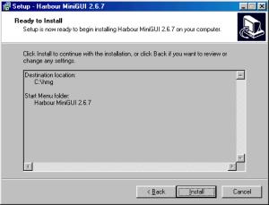 HMG 2.6.7 Instalação - Quinto Passo