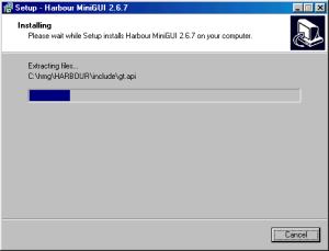 HMG 2.6.7 Instalação - Sexto Passo