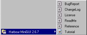 HMG 2.6.7 Instalado no Menu Iniciar
